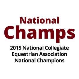 Infographic: National Champs: 2015 National Collegiate Equestrian Association National Champions