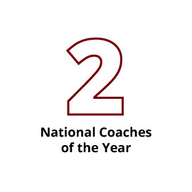 2 National Coaches of the Year