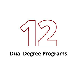 Infographic: 12 Dual Degrees Programs