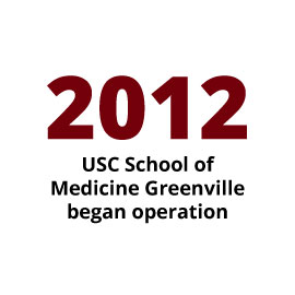 Infographic: 2012 USC School of Medicine Greenville began operation