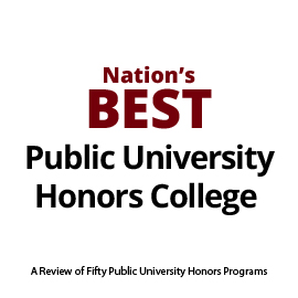 Infographic: Nation's Best Public University Honors College
