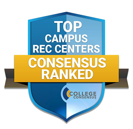 ranked 19 in the top 50 rec centers