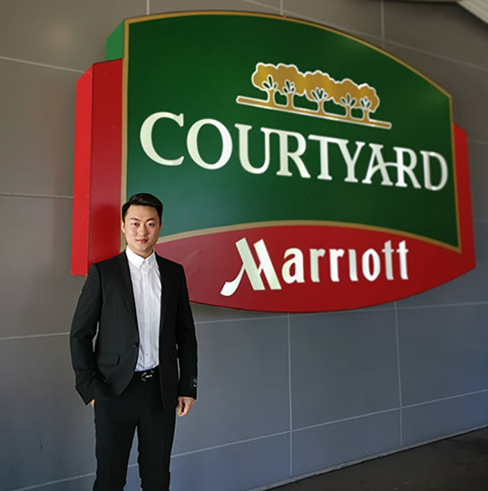 Yansong Liu at Courtyard Marriott