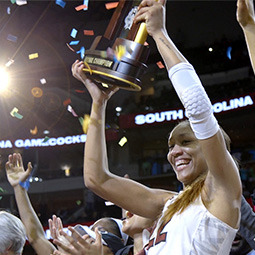 Women's basketball win the national championship
