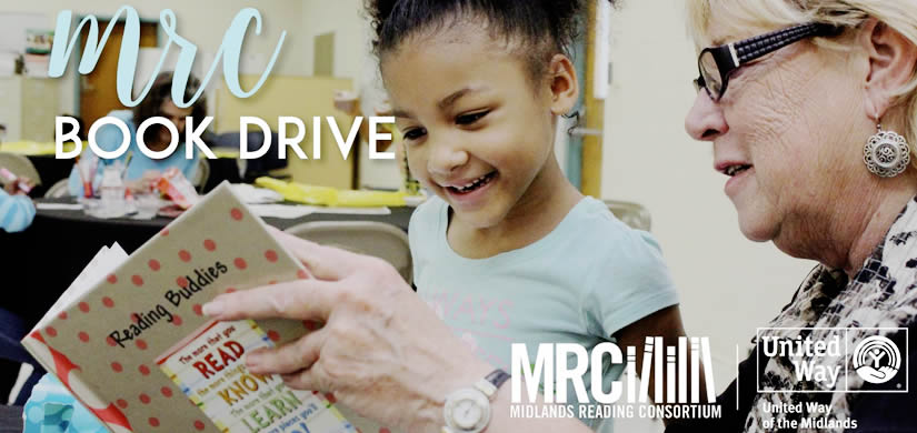 United Way Midlands Reading Consortium Book Drive