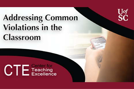 Addressing Common Violations in the Classroom