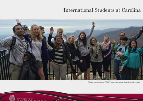UofSC International Students