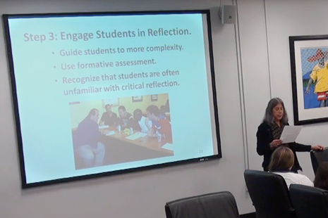 Enhance Learning Through Critical Reflection