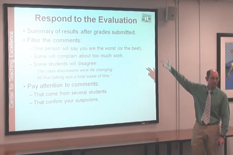 Getting Good Student Teaching Evaluations
