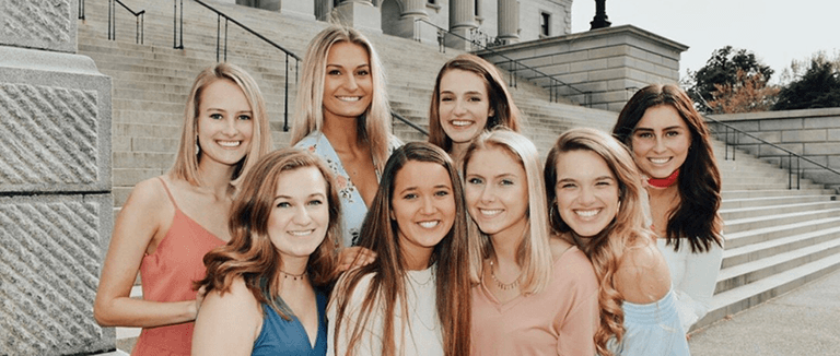College Panhellenic Association officers