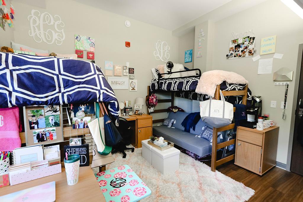 Wade Hampton At Women S Quad Housing University Of