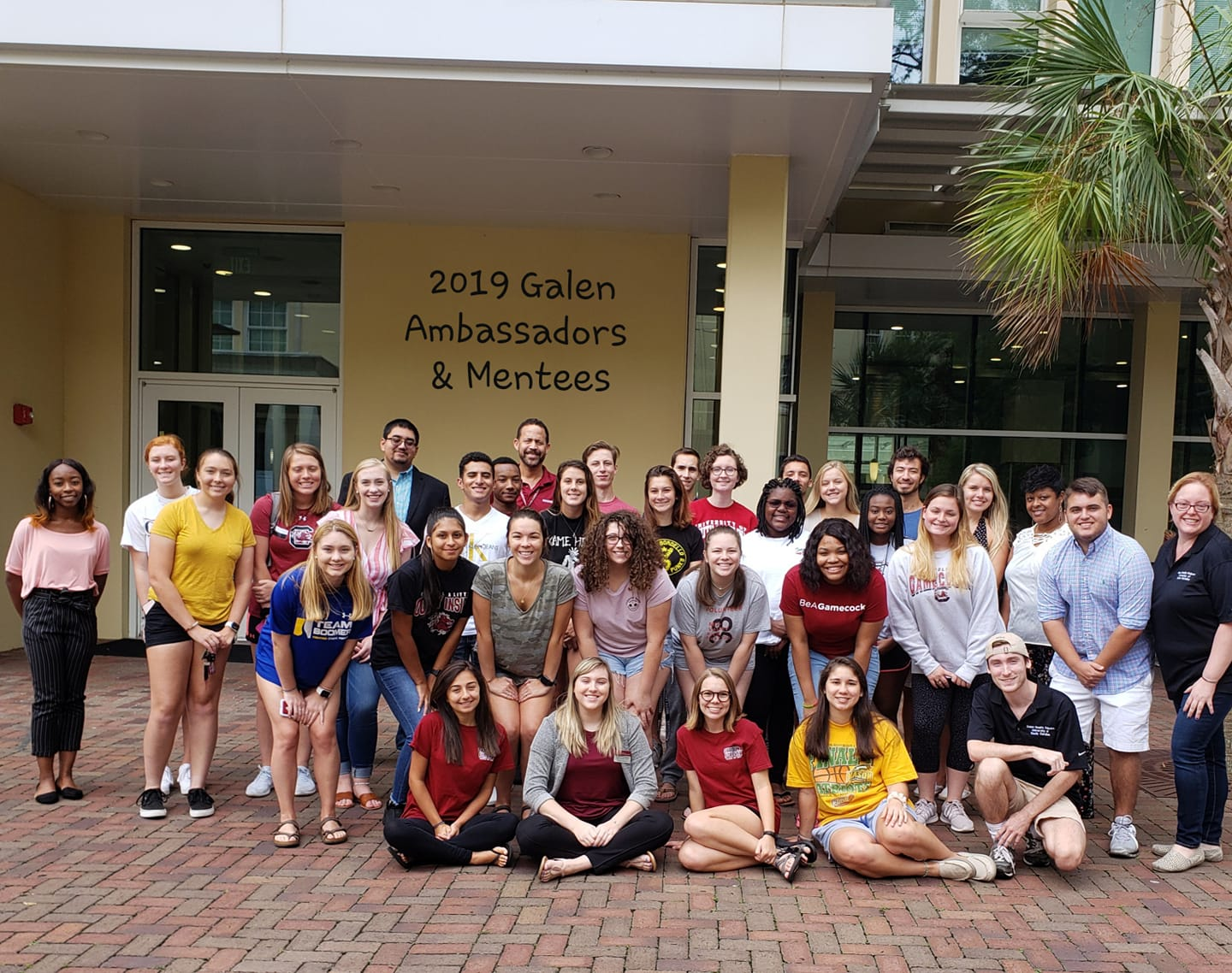 2019-2020 Galen Ambassadors and Mentees group photo