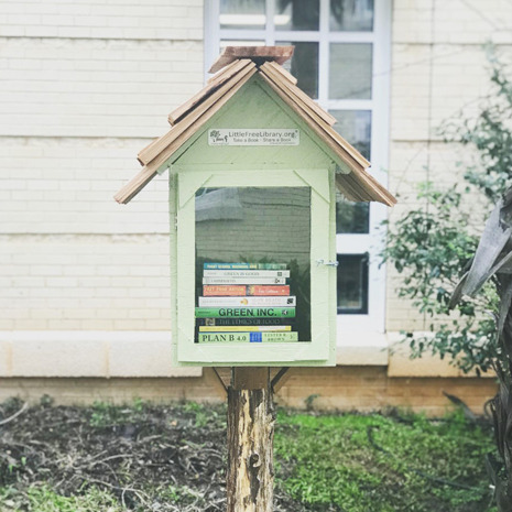 Photo of little library