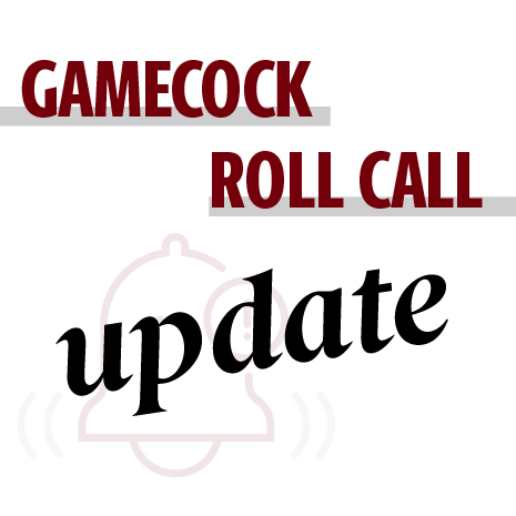 Gamecock roll call information update