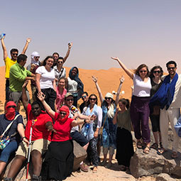 Students in Morocco 2018