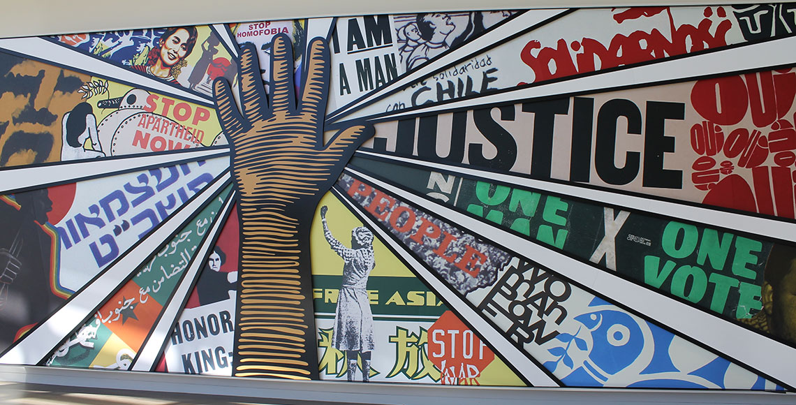 mural from the Civil Rights Tour