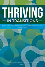 Thriving in Transitions book cover