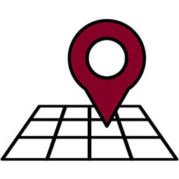 Location grid icon