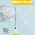 Cover Image of the Spring 2014 Breakthrough Magazine