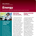 Focus Areas Energy one pager