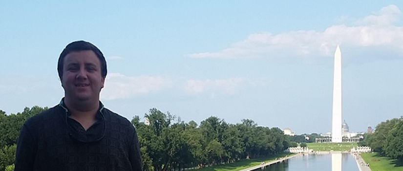 International Studies/Economics major Clayton Armstrong spent part of summer 2015  in Washington, DC for an internship.