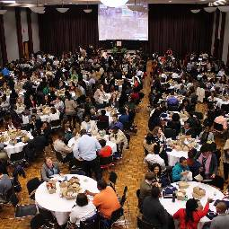 banquet in the ballroom