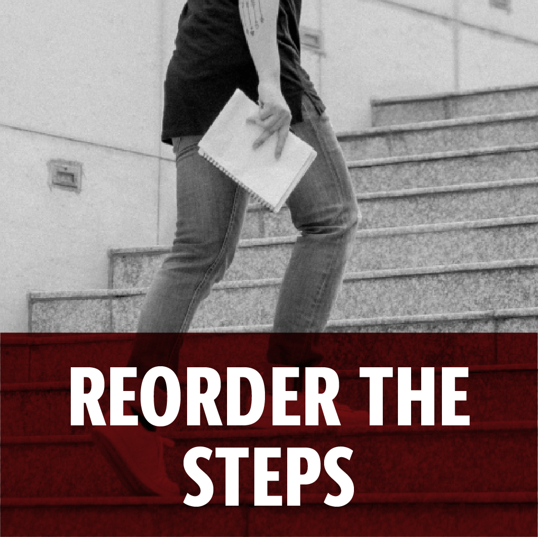 Reorder the Steps