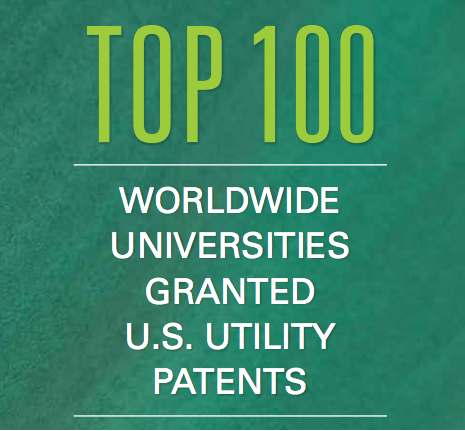 NAI Top 100 Universities for Patents