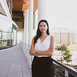 risa kawaguchi law, international business student