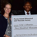 PIHMS presents check to MIRC