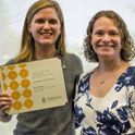 undergraduate research award recipient