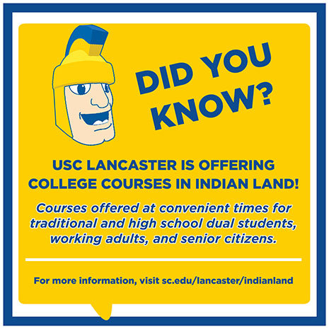 USC Lancaster Extension in Indian Land