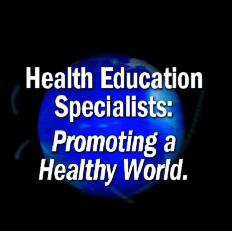 Health Education Specialist Video