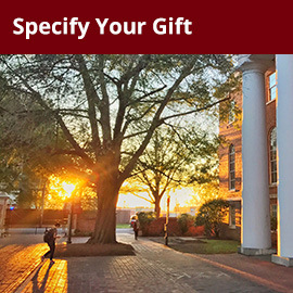 Specify Your Gift (campus image)