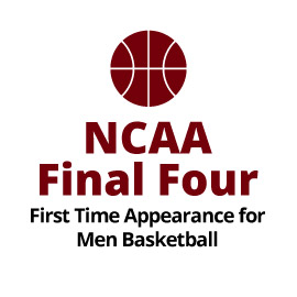 Infographid: NCAA Final Four First Time Appearance for Men's Basketball