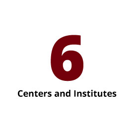 Infographic: 6 Centers and Institutes