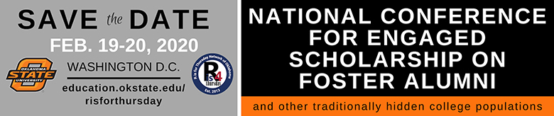 National Conference on Foster Alumni and Other Traditionally Hidden College Populations