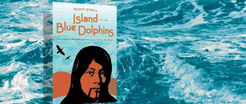 "Scott O'Dell's 1960 book, ""Island of the Blue Dolphins"""
