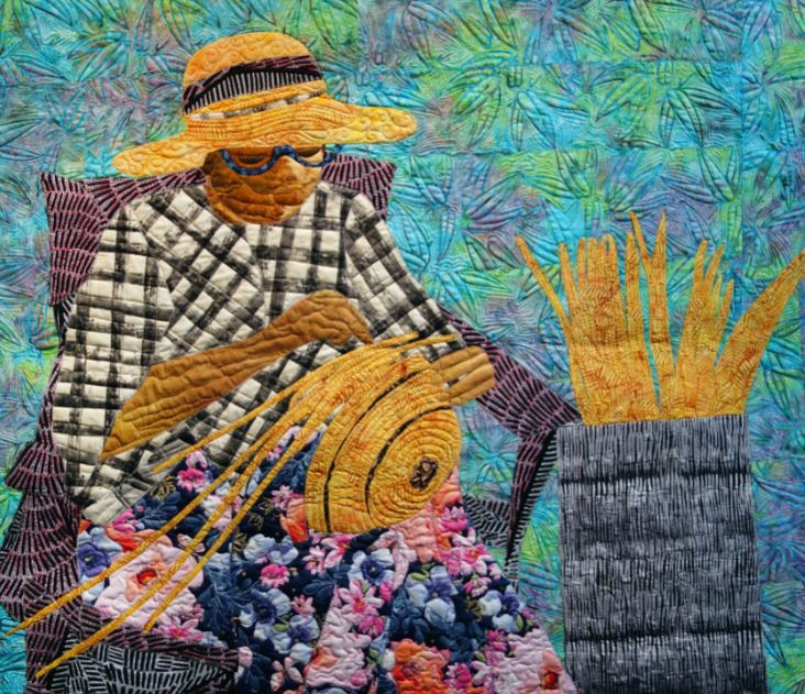 Quilt made by FHA award recipient Peggie Hartwell
