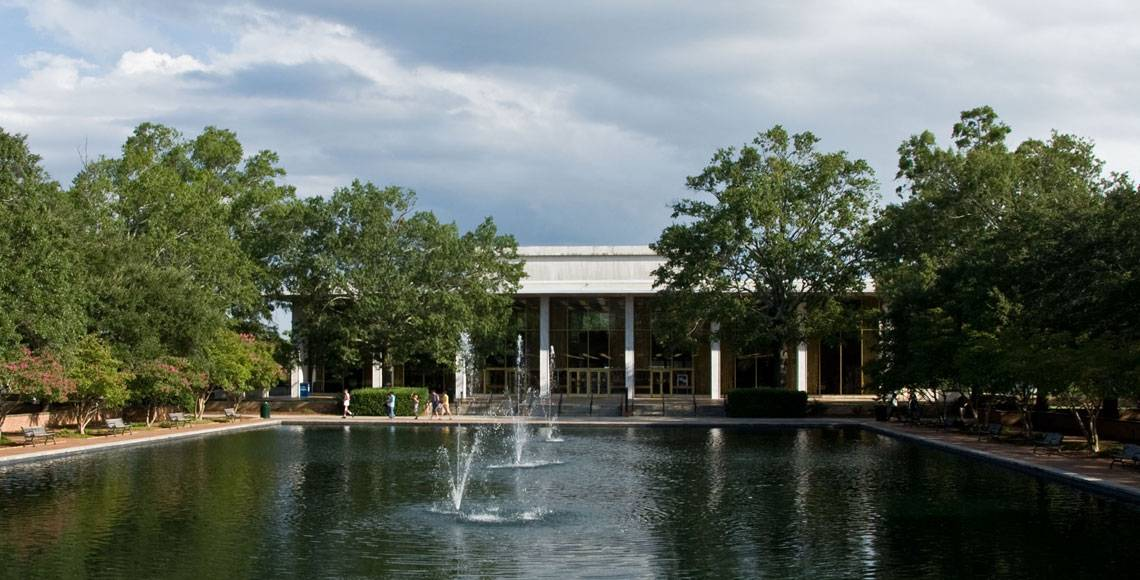 Thomas Cooper Library and Reflecting Pool