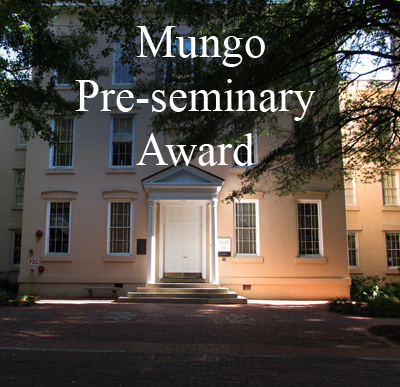 Mungo Pre-Seminary Award - image of Rutledge College