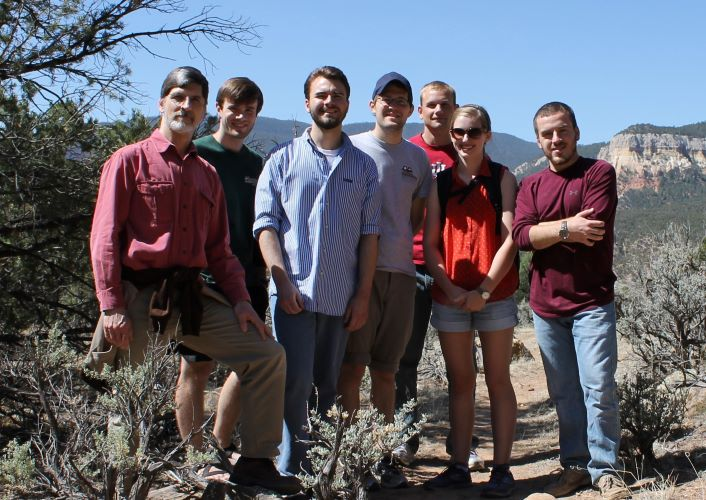 Class trip to monasteries in the Southwest