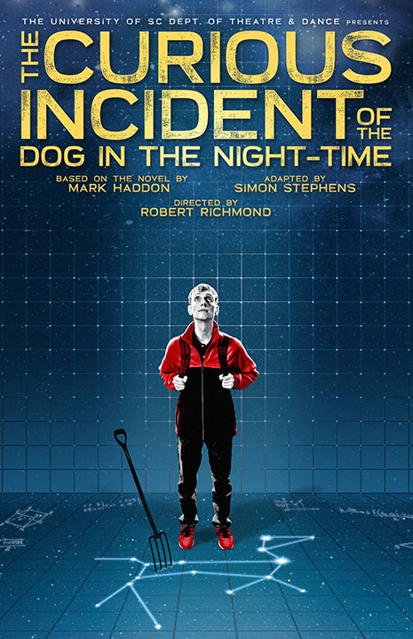 The Curious Incident of the Dog in the Night-Time poster art