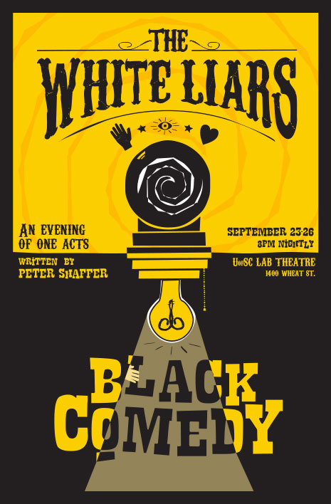 White Liars/Black Comedy poster