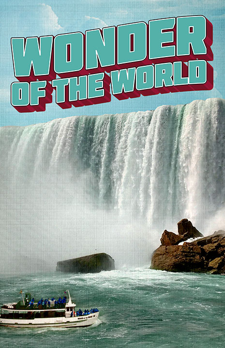 Wonder of the World poster art