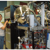 The X1A1 endstation used for ambient pressure XPS experiments at the National Synchrotron Light Source at Brookhaven National Laboratory.