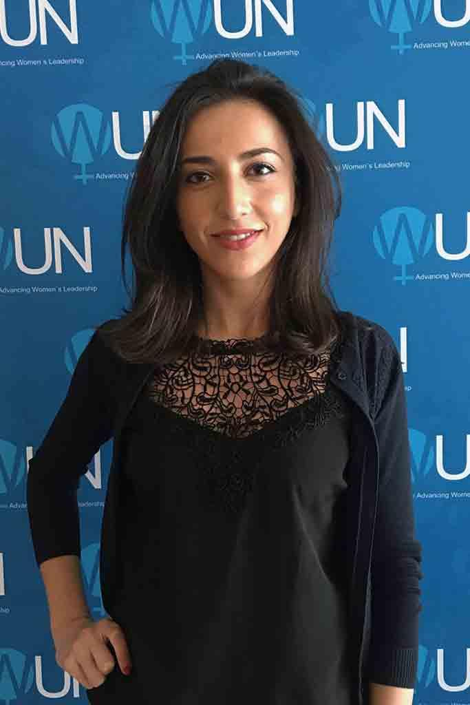 Maryam Agalarova is completing her practicum with the United Nations as part of the Department of Public Information News and Media Division.