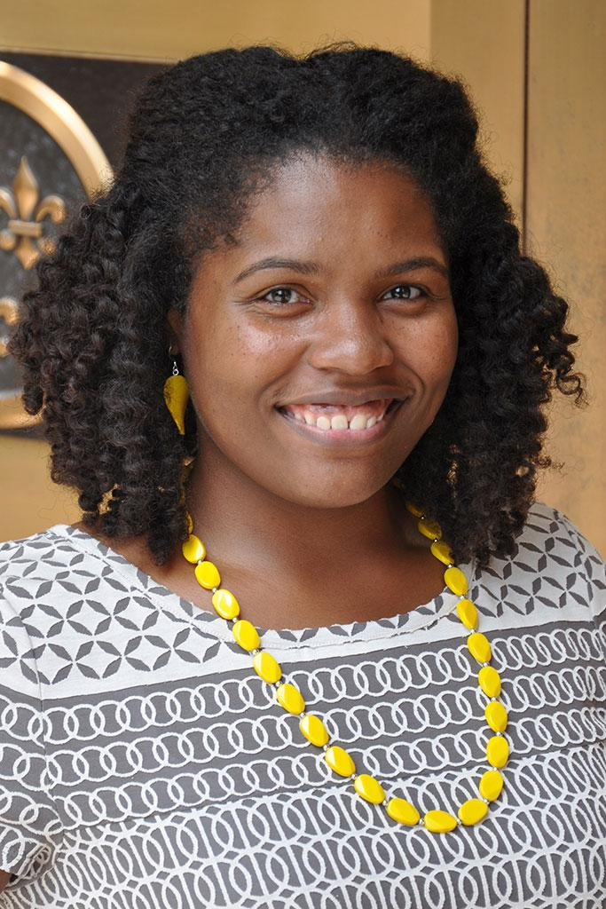 Ashley Stevens is in charge of the Historic Ford Estates' emerging archival program.