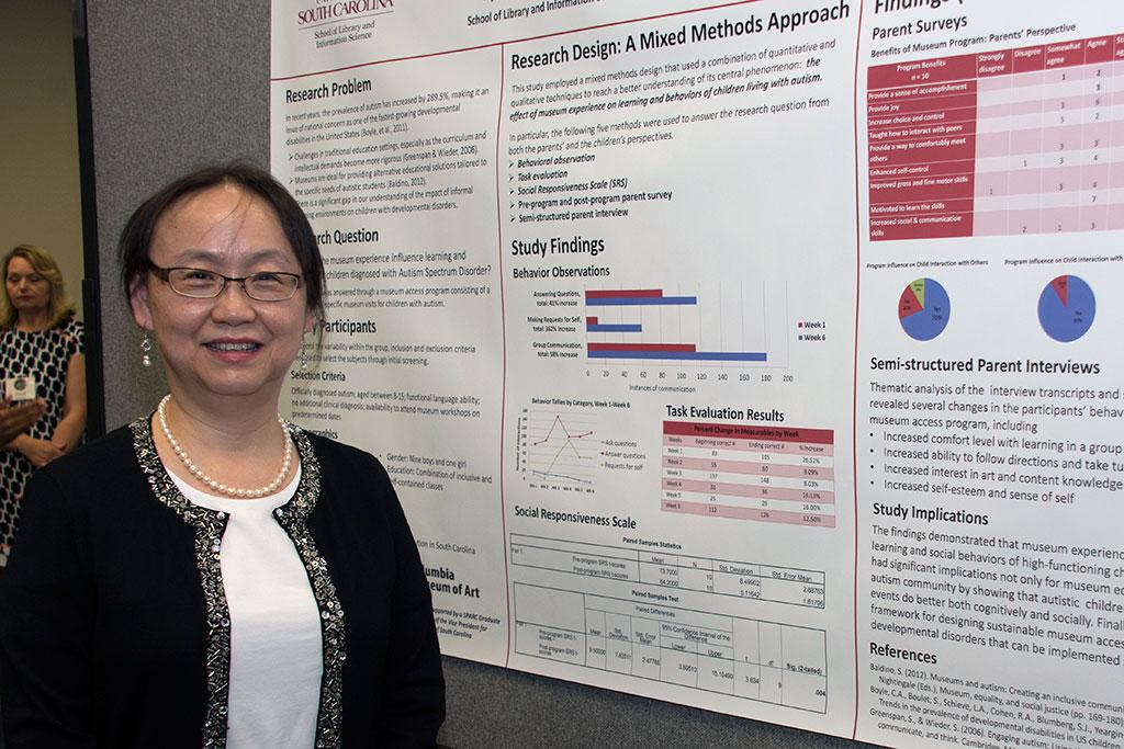 Dr. Liya Deng participated in the Poster Research Presentations at the 2016 Graduate Student Day.