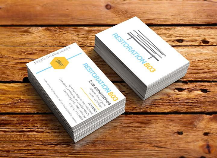 2015 showcase college of information and communications for Business cards columbia sc